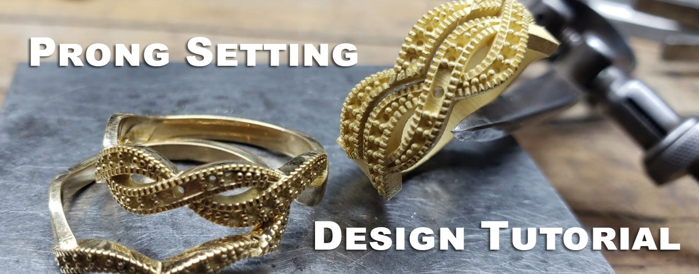 prong setting design tutorial